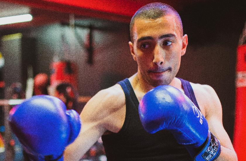 Boxing with Giorgio Di Cecco