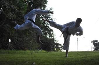 Karate with Jamil Alrubai